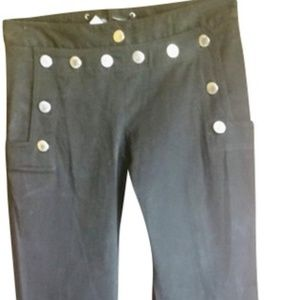 NWT Dolce &Gabbana button front pants size 6